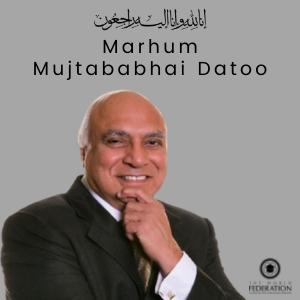 DEATH NEWS – MARHUM MUJTABABHAI DATOO