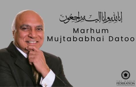 Death News – Marhum Mujtababhai Datoo (3rd Feb 1955 – 31st July 2021)