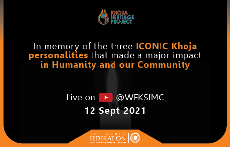 Three iconic personalities bring the Khoja community together